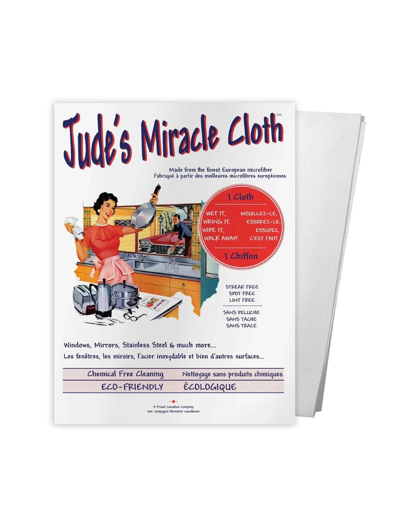 JUDE'S MIRACLE CLOTH ORIGINAL WHITE CLOTH