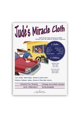 Jude's Miracle Cloth 2 Pack Grey Car Cloths