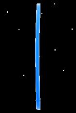 SILICONE STRAWS - BLUE