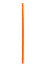 SILICONE STRAWS 2 PACK - ORANGE