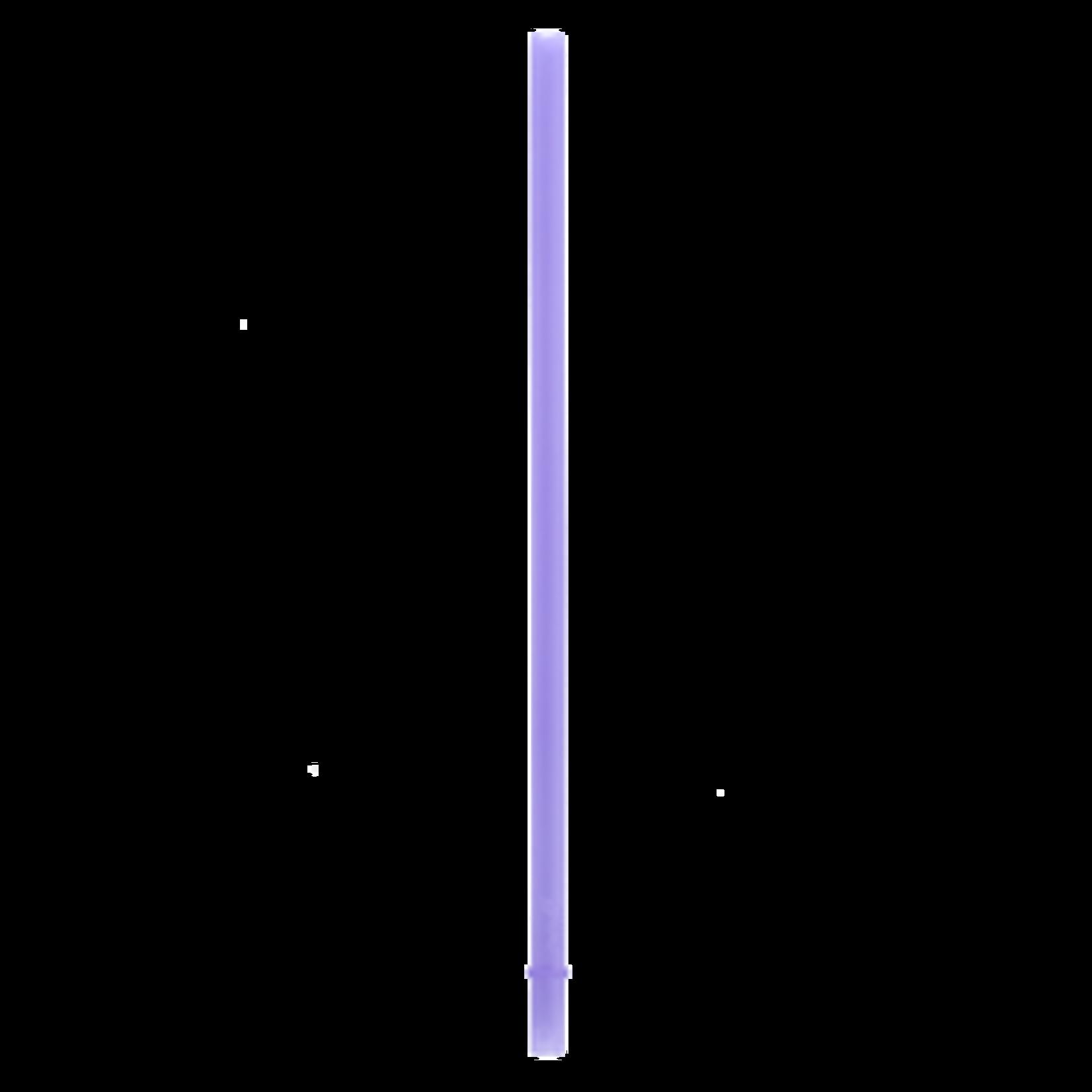 SILICONE STRAWS 2 PACK - PURPLE