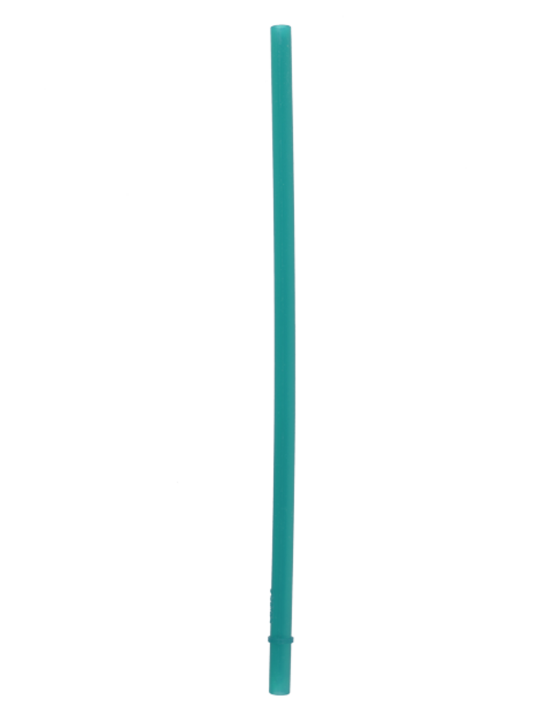 SILICONE STRAWS 2 PACK - TEAL