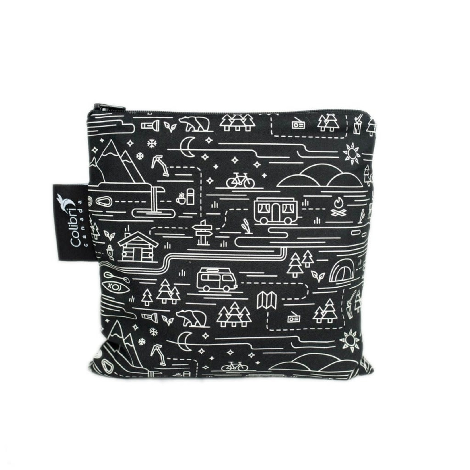 REUSABLE SNACK BAGS - ADVENTURE