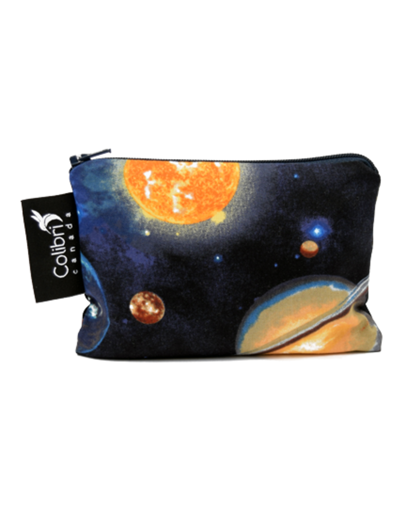 REUSABLE SNACK BAGS - SPACE