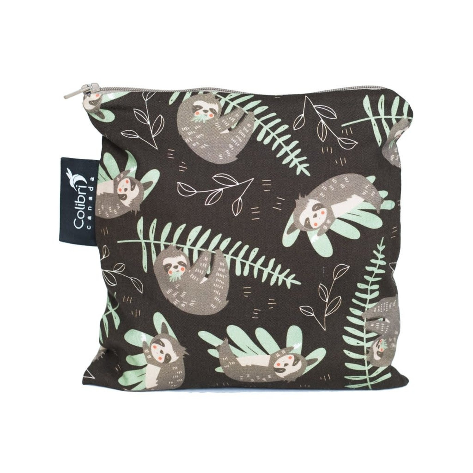 REUSABLE SNACK BAGS - SLOTHS