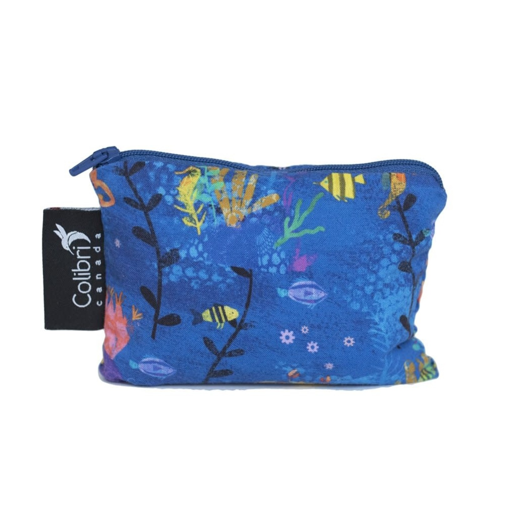 REUSABLE SNACK BAGS - UNDER THE SEA