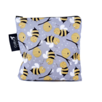COLIBRI CANADA REUSABLE SNACK BAGS -BUMBLE BEE (3 Sizes)