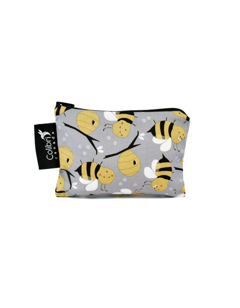 REUSABLE SNACK BAGS -BUMBLE BEE
