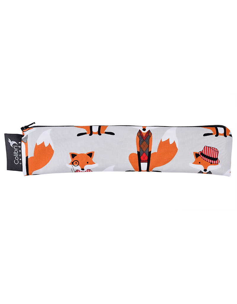 REUSABLE SNACK BAGS - FOXES