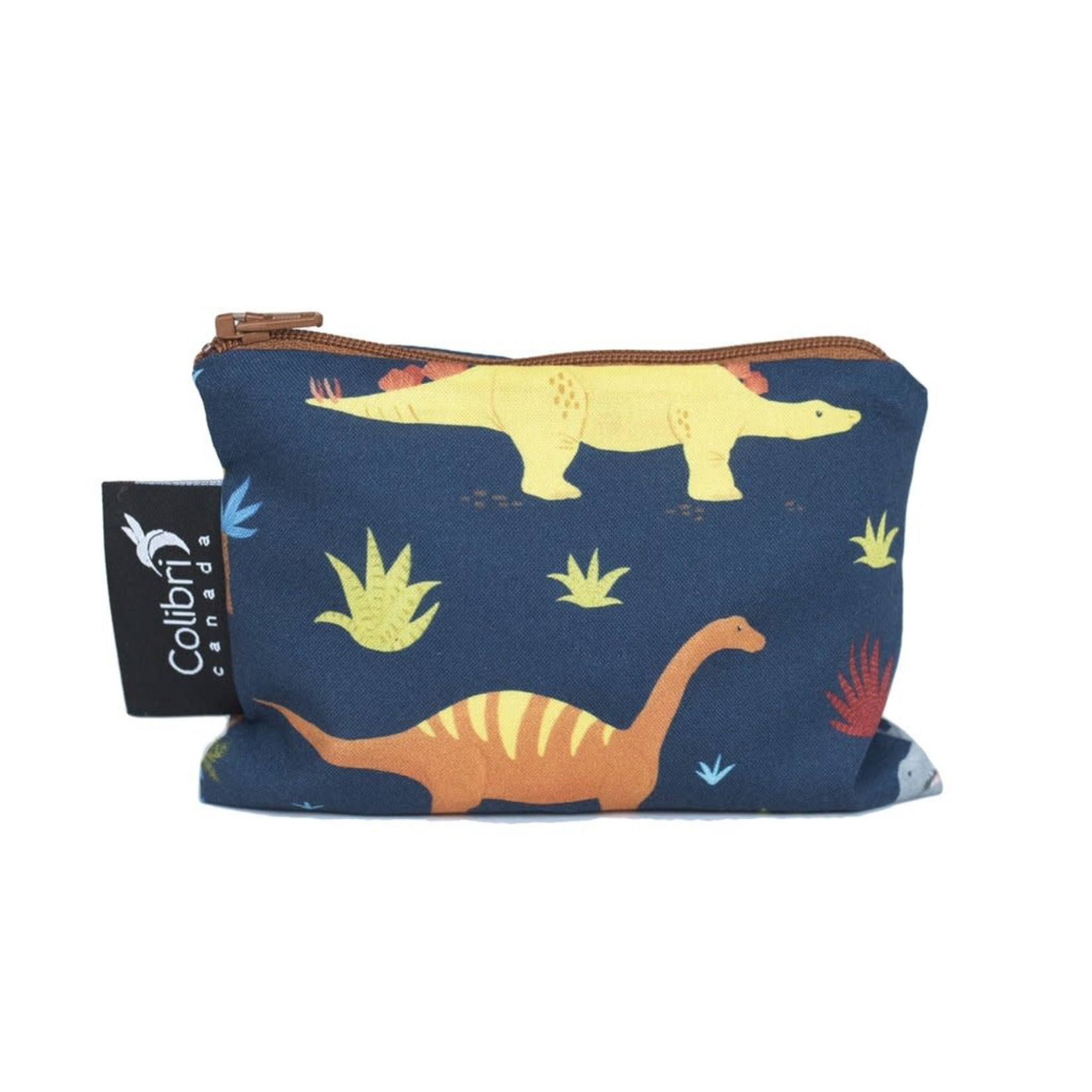 REUSABLE SNACK BAGS - DINOSAURS