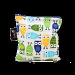 COLIBRI CANADA REUSABLE SNACK BAGS - OWLS (3 Sizes)