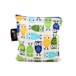 REUSABLE SNACK BAGS - OWLS (3 Sizes)