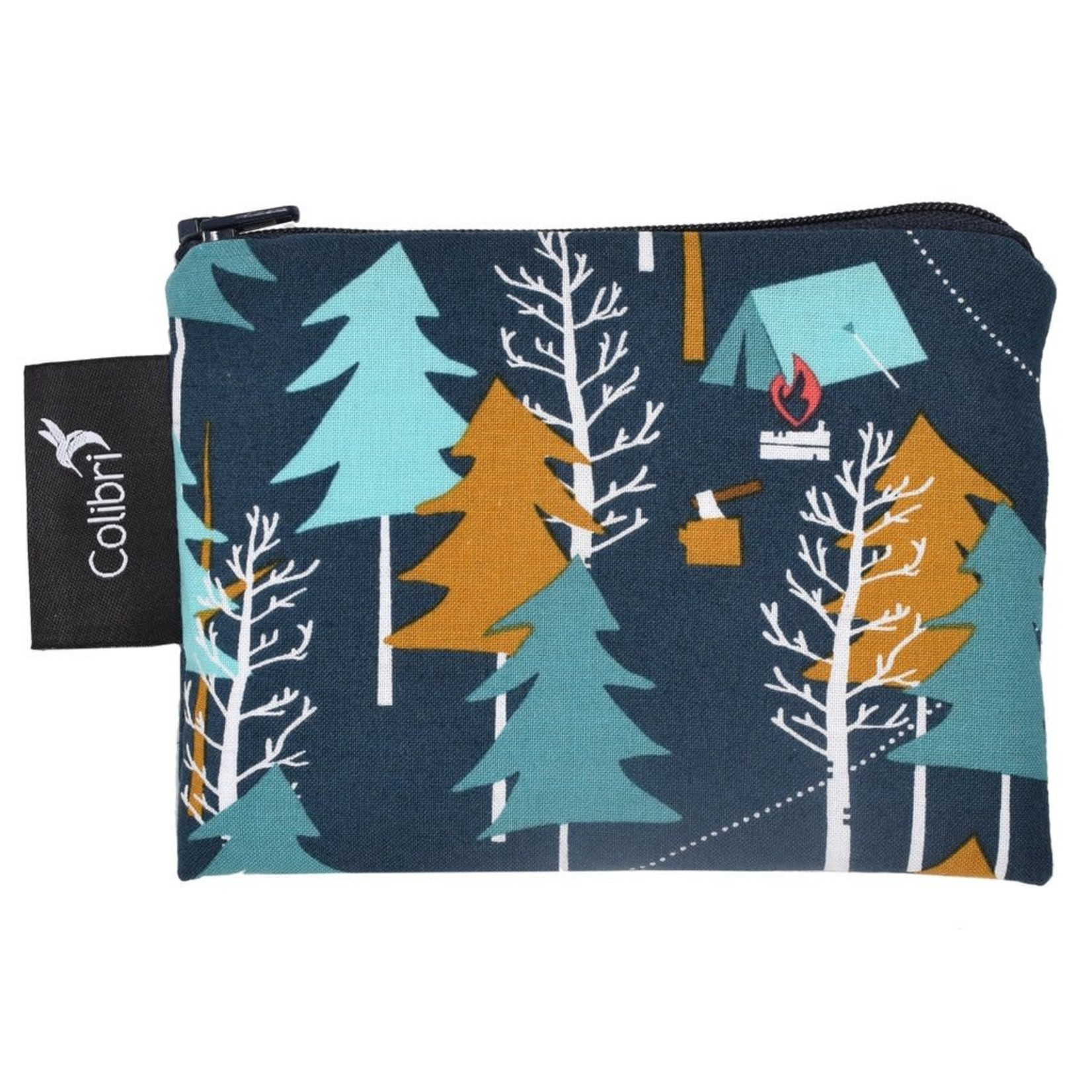 REUSABLE SNACK BAGS - CAMP OUT