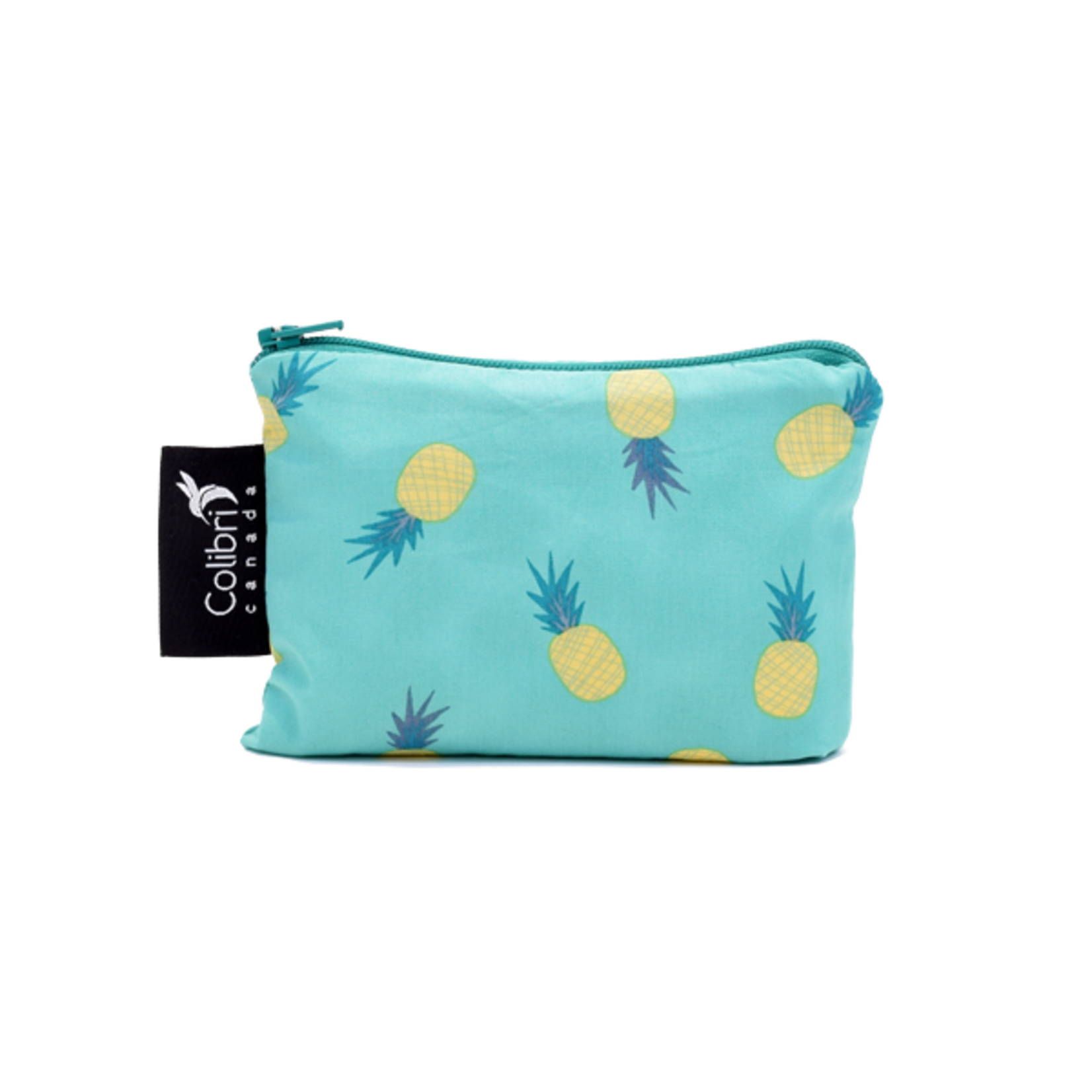 REUSABLE SNACK BAGS - PINEAPPLE