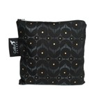 REUSABLE SNACK BAGS - MIDNIGHT FLOWER (3 Sizes)