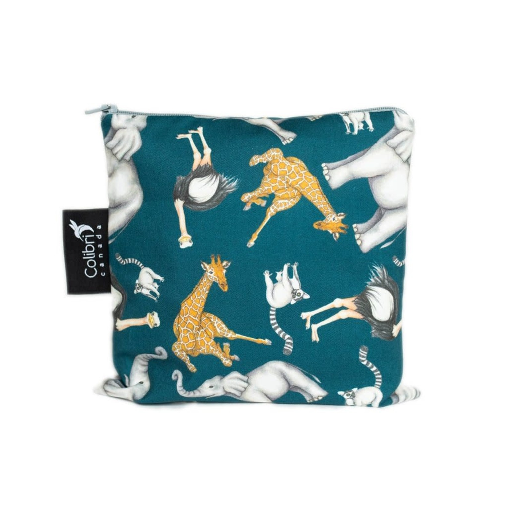 REUSABLE SNACK BAGS - SAFARI