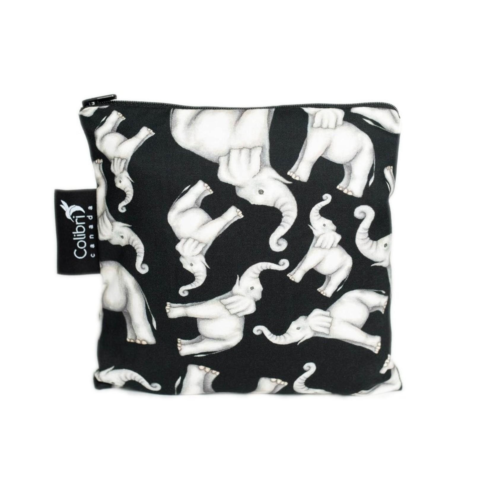 REUSABLE SNACK BAGS - ELEPHANT