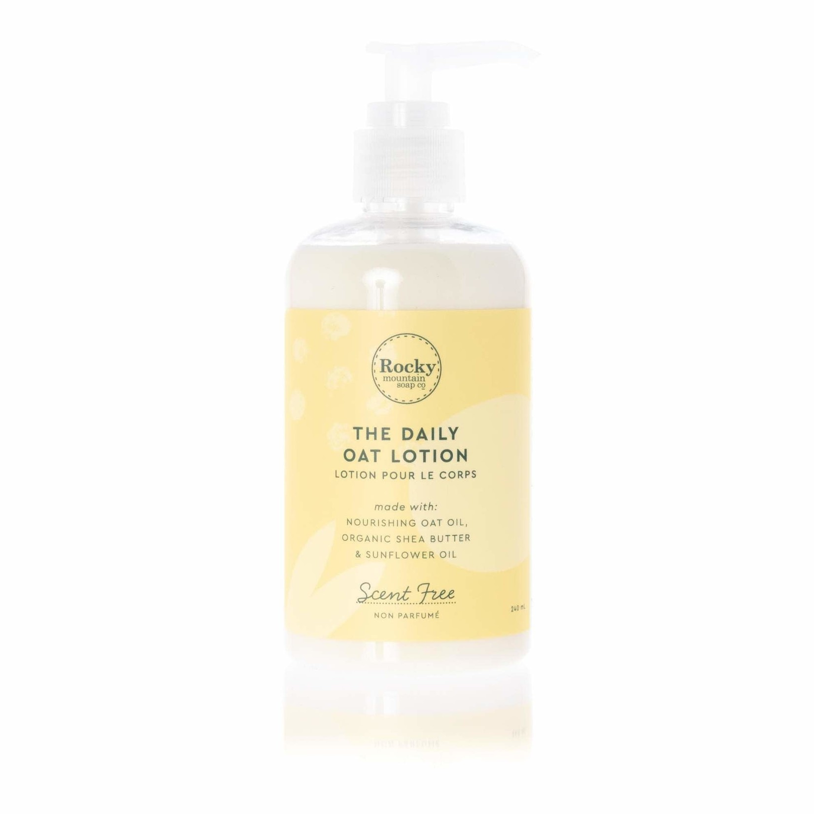 ROCKY MOUNTAIN SOAP CO. UNSCENTED BODY LOTION
