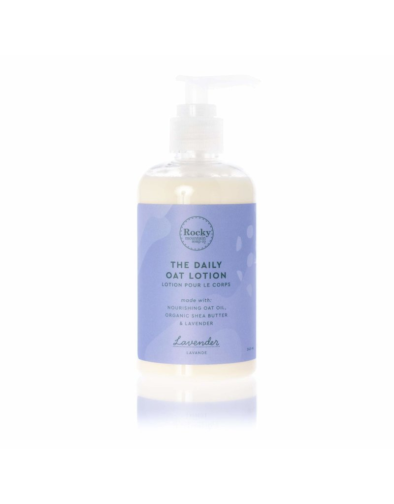 ROCKY MOUNTAIN SOAP CO. LAVENDER BODY LOTION