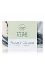 ROCKY MOUNTAIN SOAP CO. FENNEL + CHARCOAL SOAP