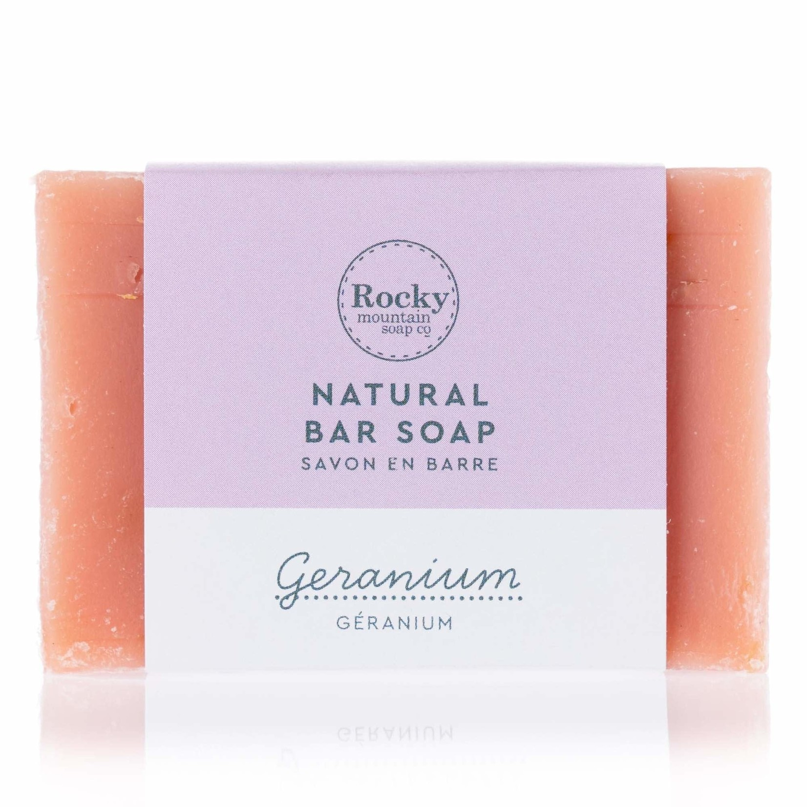 ROCKY MOUNTAIN SOAP CO. GERANIUM SOAP