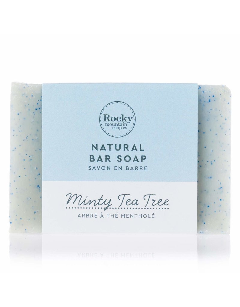 ROCKY MOUNTAIN SOAP CO. MINTY TEA TREE SOAP