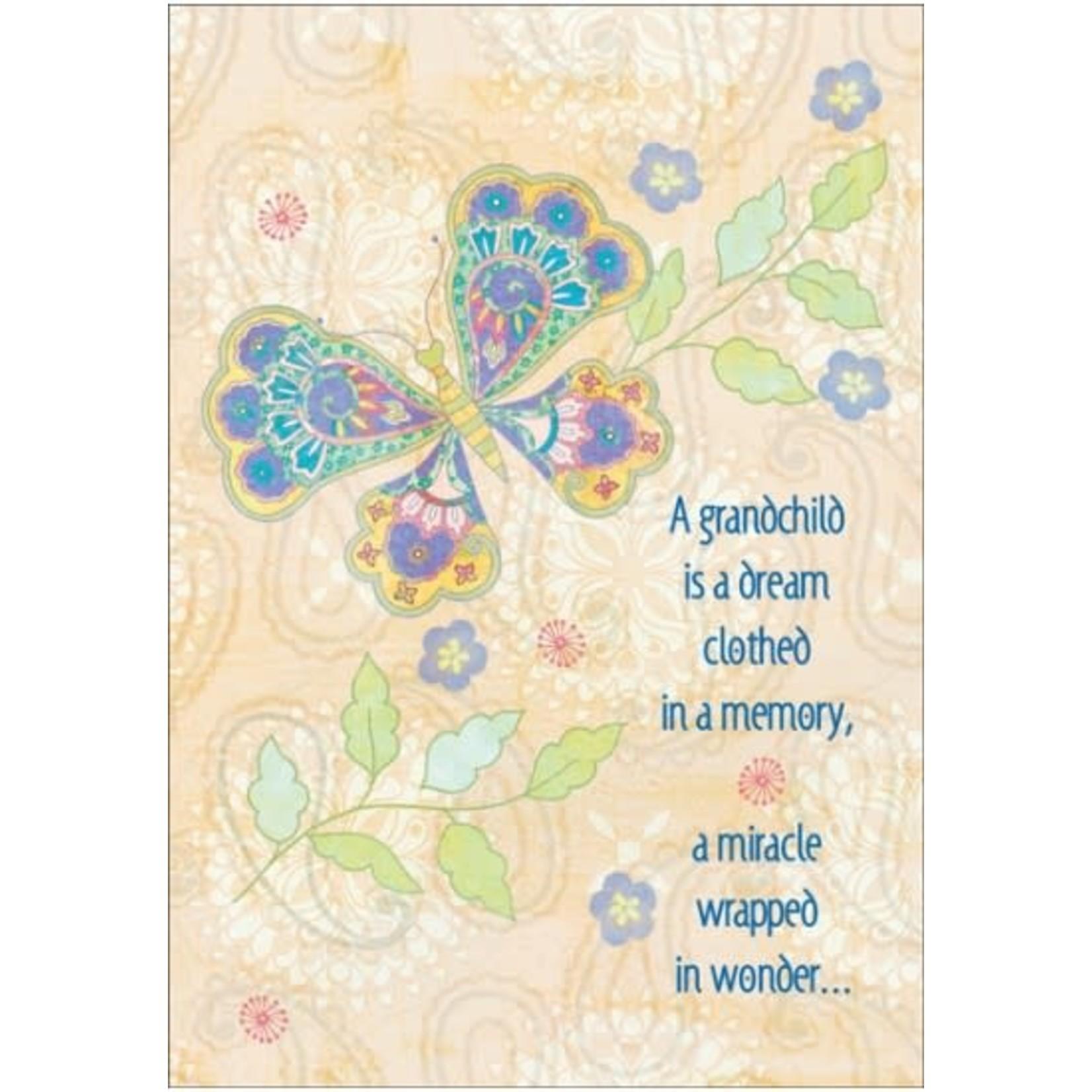 A GRANDCHILD IS A DREAM CARD