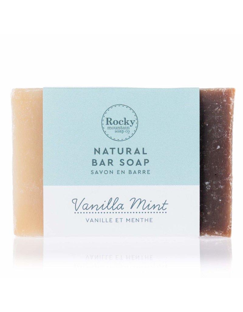 ROCKY MOUNTAIN SOAP CO. VANILLA MINT SOAP