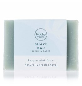ROCKY MOUNTAIN SOAP CO. PEPPERMINT SHAVE BAR