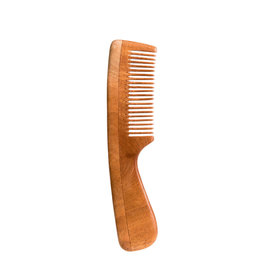 BRUSH WITH BAMBOO NEEM COMB - FINE TOOTH