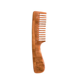 BRUSH WITH BAMBOO NEEM COMB - WIDE TOOTH