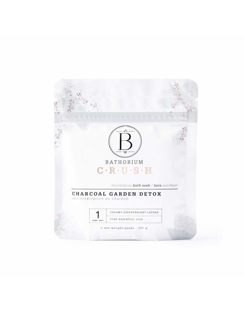 BATHORIUM CHARCOAL GARDEN DETOX CRUSH