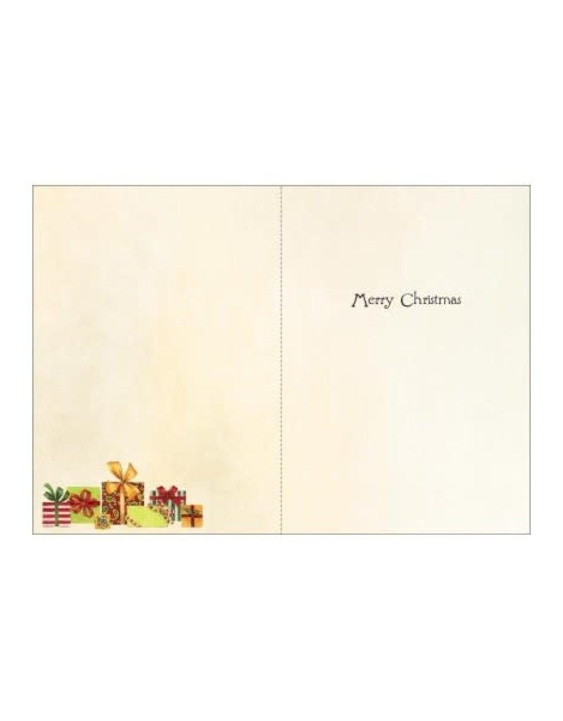 CHRISTMAS TREE + GIFTS CARD