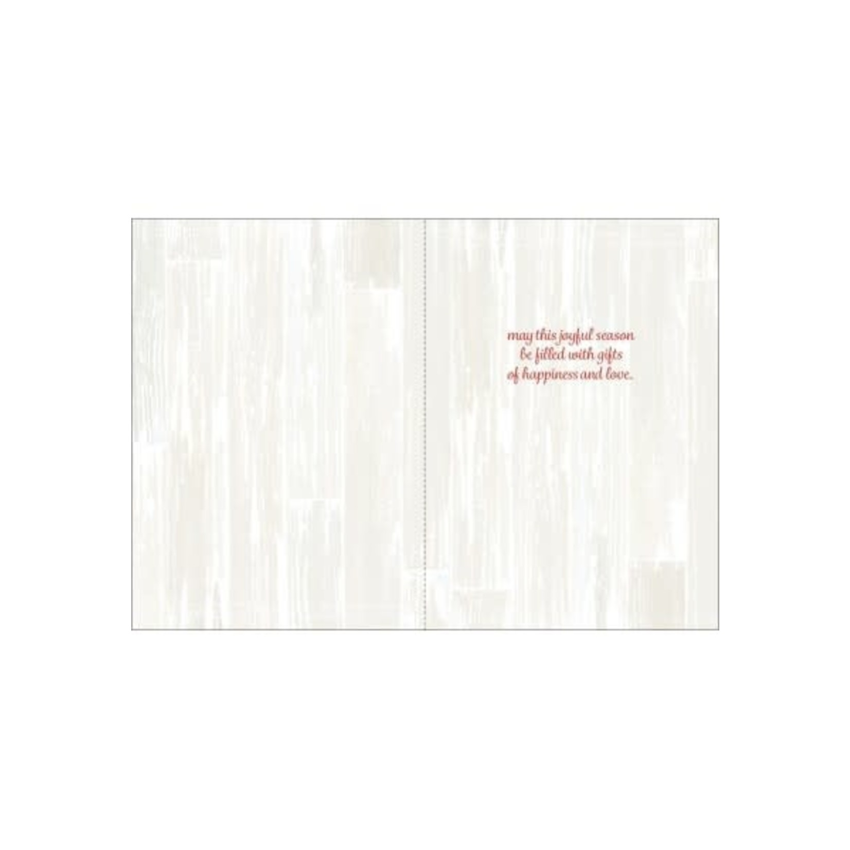 COTTON WREATH + CARDINAL CARD