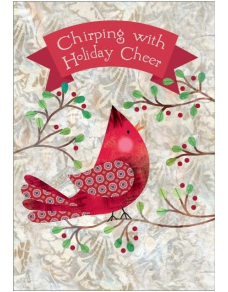 CHIRPING WITH HOLIDAY CHEER CARD