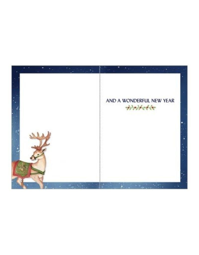 SANTA MAGICAL HOLIDAY SEASON CARD