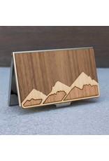 CARD CASE - MOUNTAINS