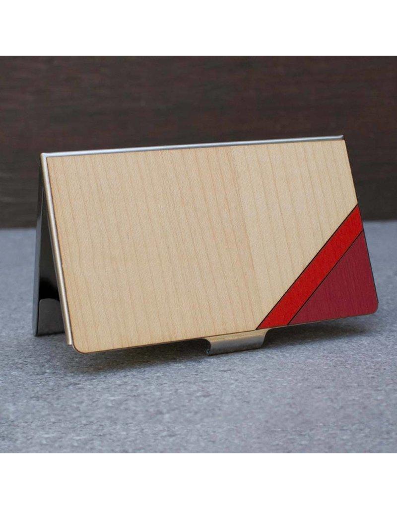 CARD CASE - RED STRIPE