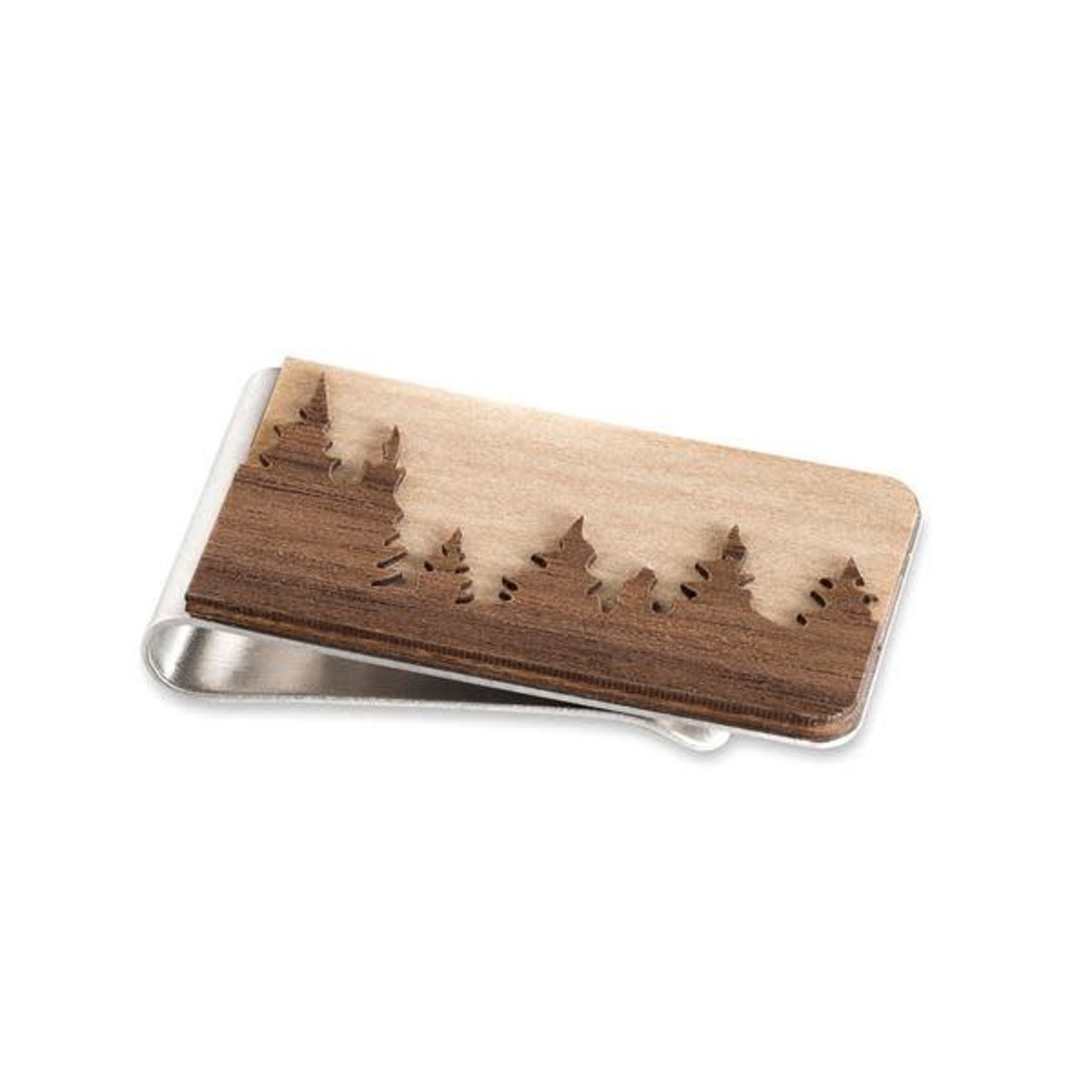 TREELINE AND TIDE MONEY CLIP - FOREST