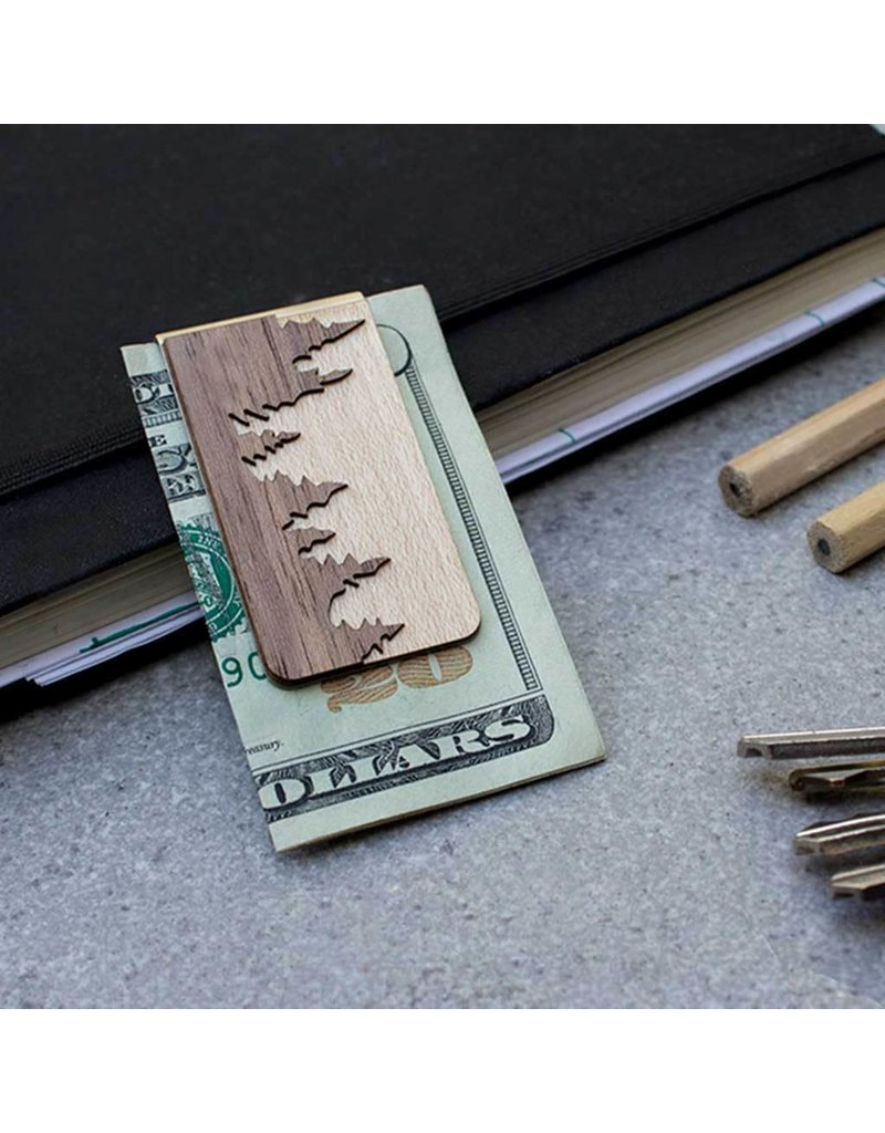 MONEY CLIP - FOREST