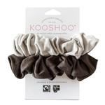 KOOSHOO ORGANIC SCRUNCHIES - MOON SHADOW