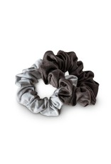 KOOSHOO ORGANIC SCRUNCHIES - MOON SHADOW
