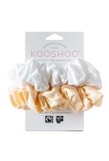 KOOSHOO ORGANIC SCRUNCHIES - NATURAL LIGHT