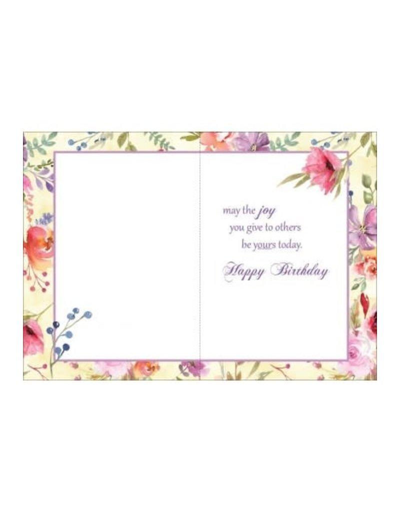 DAUGHTER BIRTHDAY WISH CARD