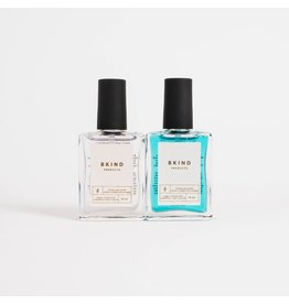 BKIND NAIL POLISH DUO - TOP + BASE COAT