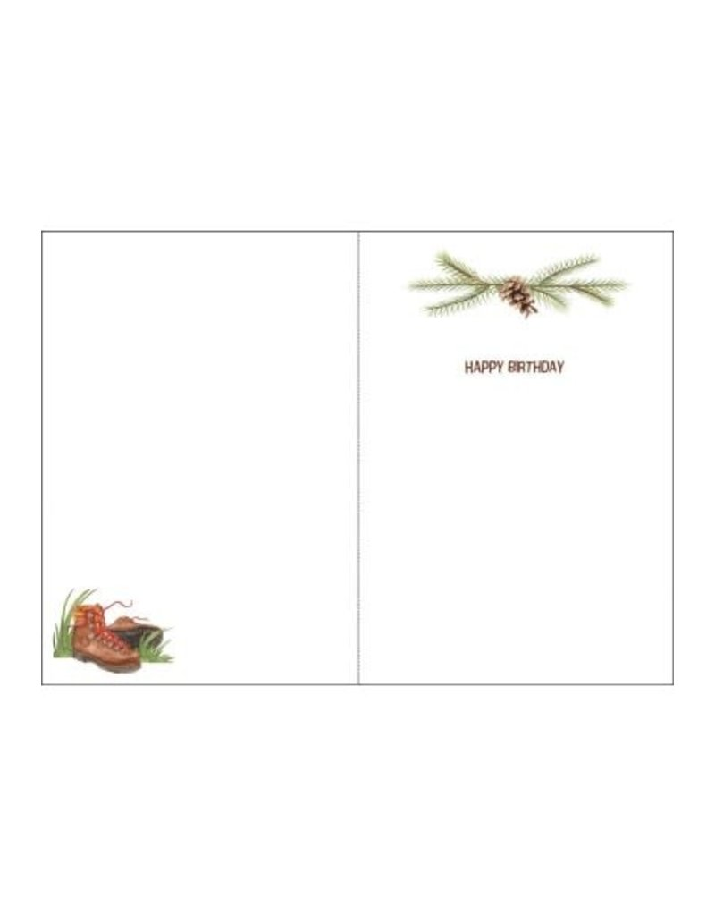 HAPPY TRAILS CARD