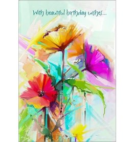 BEAUTIFUL BIRTHDAY WISHES CARD