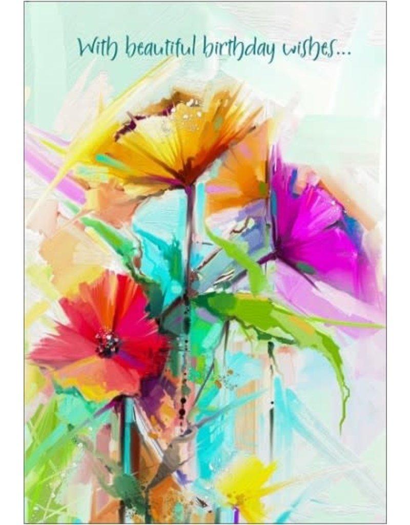 BEAUTIFUL BIRTHDAY WISHES CARD
