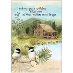 MOUNTAIN CABIN CARD