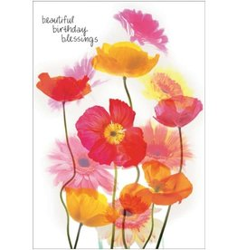 BEAUTIFUL BIRTHDAY BLESSINGS CARD